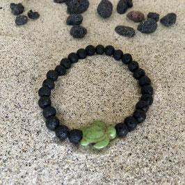 Lavaarmband mit Schildkröte