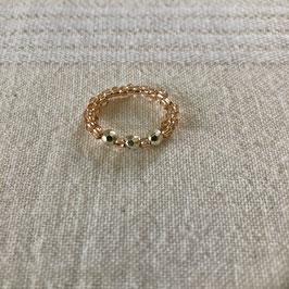 Ring rosé - silber