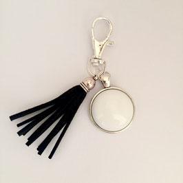 Taschenanhänger Black&White