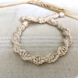 Armband Marrakesch - Creme-Gold
