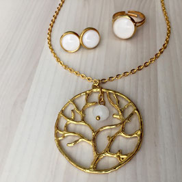 Golden Tree Schmuckset