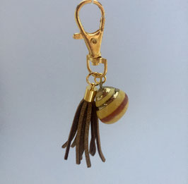 Taschenanhänger Golden-Shell