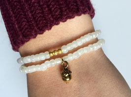 Goldenes Armband-Set