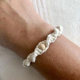 Armband Marrakesch - Cremeweiß