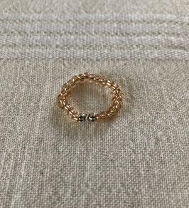 Ring rosé - Schleifchen