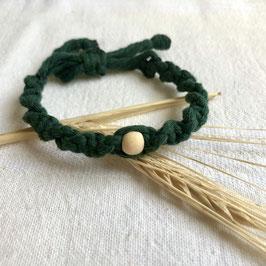 Armband Marrakesch - Dunkelgrün