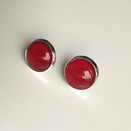 Cherry Red Ohrstecker