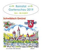 Erinnerungsbeleg Remstal Gartenschau 2019