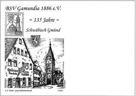 Erinnerungsbeleg 135 Jahre BSV Gamundia 1886 e.V.