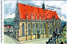 23. Gmünder Sondermarkenheftchen - Heilig-Kreuz-Münster Schwäbisch Gmünd