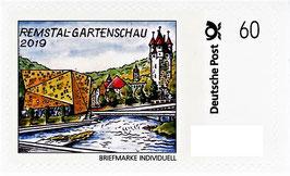 """Briefmarke individuell """"Remstal Gartenschau - 60 Cent"""""""