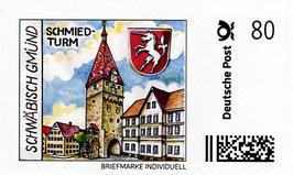 "Briefmarke individuell ""Schmiedturm - 80 Cent"""