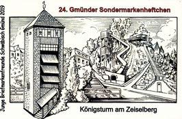24. Gmünder Sondermarkenheftchen - Königsturm mit Zeiselberg