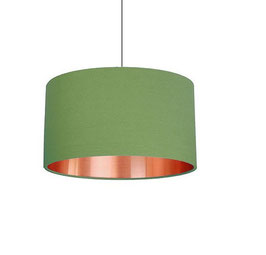 "Lampenschirm ""copper meets green"""