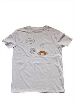 Kipfi T-Shirt Weiß