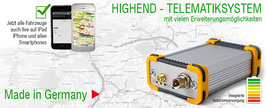 GPS-Ortung *Fleet Telematik*