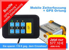 Mobile Zeiterfassung & GPS-Ortung