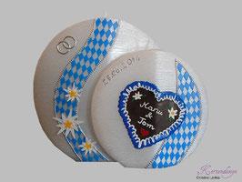 Hochzeitskerze bayrisch