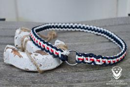 Heimfinder, 3mm Trimmleine, marineblau/weiß/rot