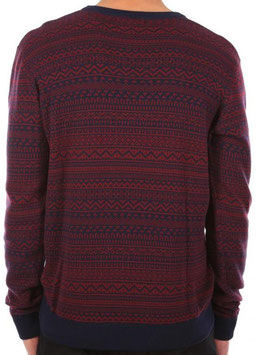 Iriedaily Naranjo Knit navy red