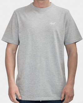 Reell Small Script T-Shirt grey heather