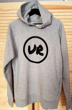 "UR ""Urban Riders"" Hoodie heather grey vom legendären Laden in Hofheim"