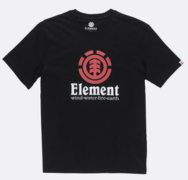 Element Vertical T-Shirt flint black