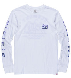 Element Lens Long Sleeve T-Shirt optic white