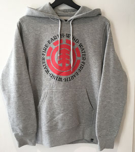 Element Seal Hoodie grey heather