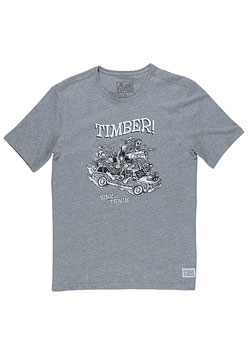 Element Woody T-Shirt grey heather