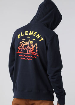 Element Lens Backprint Hoodie eclipse navy