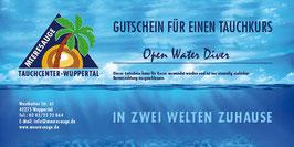 Gutschein Open Water Diver - Tauchkurs