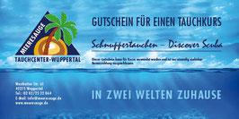 Gutschein Schnuppertauchen - Discover Scuba
