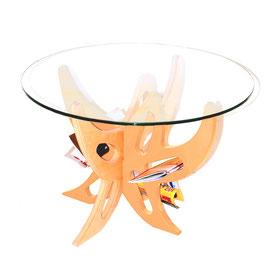 AUGUSTO: tavolino da salotto- tavolino da caffè- tavolino multifunzione dal design unico
