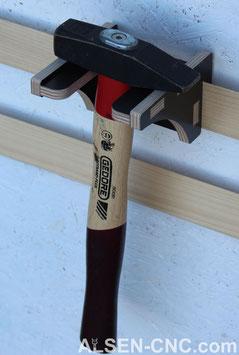 kleiner Hammerhalter (2 Stück)