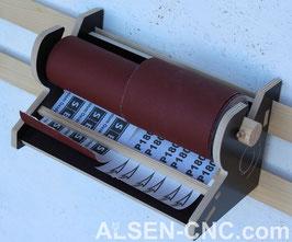Schleifpapierrollenhalter