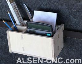 Offene Box mit Fächern 100x200x100