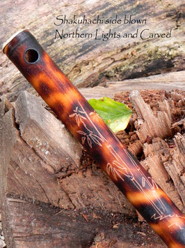 Shakuhachi Flute sideblown in D