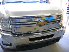 2011 012 013 2014 Silverado 2500 3500 SS Winter Front (2 pieces)