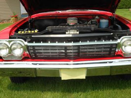 1962 chevy grille  screen
