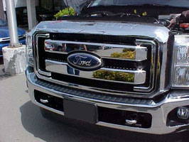 2011 12 13 2014 2015 2016  Ford Super Duty F250 f350 F450 F550 For Chrome Grille Only
