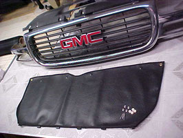 OEM Type Winter Front 1999 2000 2001 2002 GMC Sierra 1500 2500 & 3500 Grill Cover