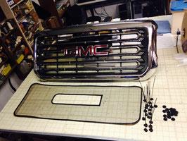 2015 -16 GMC Sierra  2500  3500 Black Metal Mesh Inserts