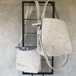 Tas | Bag in Bag grijs