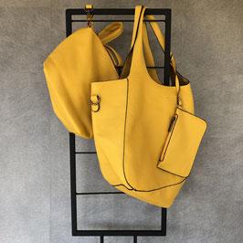Tas | Bag in Bag geel