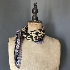 Sjaal |  Panterpint geplisseerd design