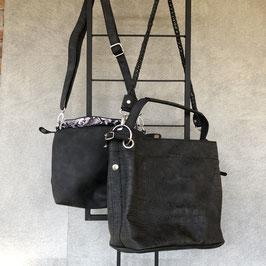 Tas | Bag in Bag zwart