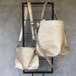 Tas | Bag in Bag goud