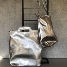Tas | Bag in bag zilver