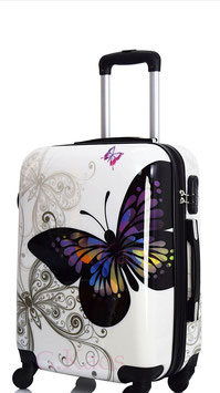 Maleta  Mariposa Blanca